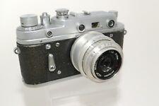 Zorki 2C Rangefinder Camera Russian 35mm Film W/ f3.5 50mm Lens Leica Copy