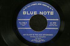 VINYL RECORD 45 ART BLAKEY & THE JAZZ MESSENGERS HI-FLY CHICKEN AN DUMPLINS JAZZ