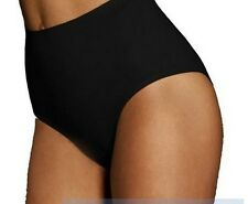 Black Body Wrap Regular Superior Nude Seamless Panty 44810 - Large #17L474