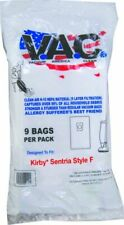 KIRBY Sentria, F-Style and Twist-Style Models H-10 HEPA Filtration - 9 Bags per