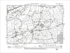 old map Dorset 1902: 3NE Gillingham S Milton on Stour