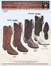 Los Altos Men's Rage/ Python Cowboy Round Toe Western Boots