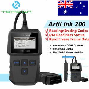 TOPDON AL200 OBD2 Car Engine Fault Diagnostic Scan Tool Auto Code Reader Scanner