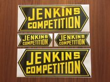 BILL JENKINS Competition Original Vintage Racing Decal//Sticker CHEVY L