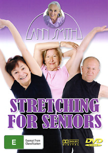Ann Smith STRETCHING FOR SENIORS - BREAKTHROUGH EXERCISE WORKOUT FOR OVER 50 DVD