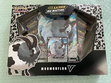 Coffret Pokémon Mounouflon V - 4 Booster scellé la Voie Du Maître - FR