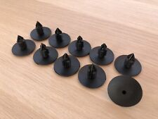 10 Clips agrafe plastique Renault Spruce passage de roues rivets plastiques 10mm