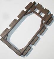 Playmobil Ritterburg ERSATZTEIL Fachwerk braun Rahmen Wand Verbinder Holz 3666