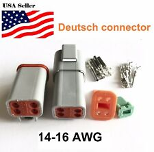 4-Pin Deutsch DT04 Engine Gearbox waterproof electrical connector