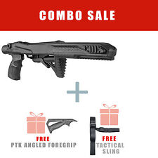 Fab Defense Tactical Stock for Ruger 10/22 w/ Free Angled Handle - R10/22 PTK