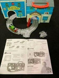 Thomas & Friends Take Along Sodor Engine Works, Diecast Percy