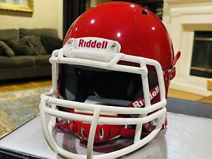 Riddell Revolution SPEED Classic Football Helmet (Color: GLOSS RED) Crimson!