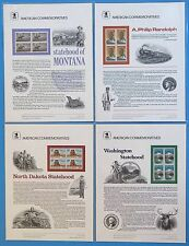 1989 USPS Commemorative Panels 22 (Complete) Original Sealed Package MNH