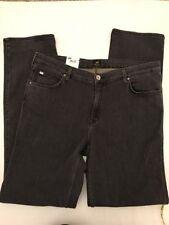 Cotton Plus Size Straight Leg Jeans for Women