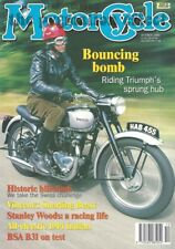 The Classic MotorCycle 350 BSA B31 1914 Indian Hendee Special Triumph Tiger 100