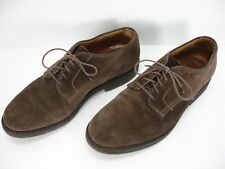 ALDEN CAPE COD COLLECTION 95998 SNUFF SUEDE LACE UP OXFORD SHOES MEN'S 8.5 B / D