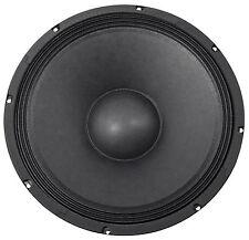 "Rockville 400 Watt 15"" Raw DJ/Pro Audio Subwoofer Sub Woofer - 8 Ohm"