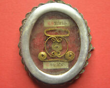 VERY RARE reliquary shrine relic CROWN OF THORNS  JESUS CHRIST D.N.J.C.