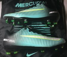 Nike Mercurial Vapor XI FG Women's Soccer Cleats Aqua Volt Size 9.5W/Bag New
