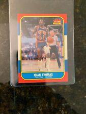 1986-87 Fleer Basketball #109 ISIAH THOMAS ROOKIE.......NRMT