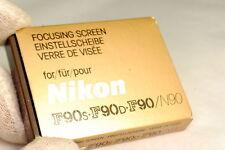 Nikon Tipo B Focusing Pantalla para F90S, F90D, F90, N90, N90S Cámaras No 1