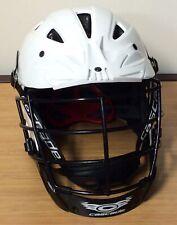 New listing Lacrosse Helmet Cascade SHC2 Lacrosse Helmet White Size XL 422-2