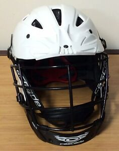 Lacrosse Helmet Cascade SHC2 Lacrosse Helmet White Size XL 422-2