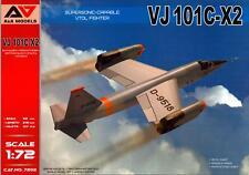 A&A Models 1/72 EWR VJ 101C-X2 German Supersonice VTOL Fighter