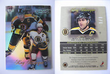 1998-99 Topps Gold Label #9 Ray Bourque 1/1 class 1 black 1 of 1 bruins RARE