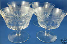 RARE Antique CRYSTAL Edwardian PALL MALL LADY HAMILTON ETCHED BOWLS - in Aust