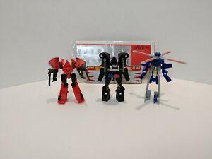 Transformers Classics 2006 Mini-Con Night Rescue Team 100% complete