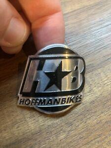 Rare Vintage Hoffman Bikes Bmx Head Tube Logo Badge Haro GT Skyway HB Redline