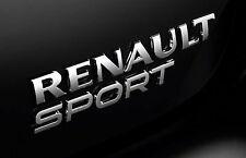 Logo Emblema Renault Sport RS Twingo Megane 4 2 Clio 3 IV Monograma Original GT