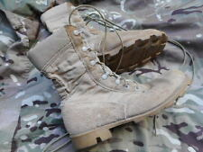 GENUINE US sf ISSUE made in usa GULF WAR ORIGINAL  DESERT COMBAT BOOTS PARA
