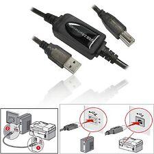 20 M USB 2.0 CAVO DI PROLUNGA STAMPANTE A a B Active BOOST Ripetitore a lungo di piombo