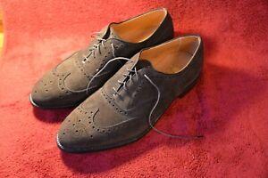 NEW Alden Men's 904 Brown Suede Wingtip Shoes Size 11.5 A/C