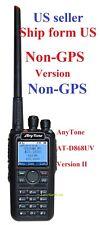 AnyTone AT-D868UV NON-GPS Version 2 Dual Band DMR/Analog 144&430 Radio US seller