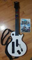 Nintendo Wii RedOctane Les Paul Guitar Hero White Guitar Rock Band 2 95125.805