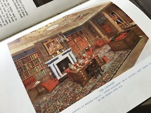 Everybodys Book The Queens Dolls House 1924 Methuens Fascinating HM Queen Mary