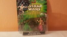Star Wars - 2001 Princess Leia with Sail Barge Cannon