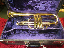 Noblet Cornet with Case and Mouthpiece
