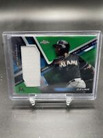 Marcell Ozuna 2019 Topps Chrome Rookie Debut Gear Green Refractor /99 Marlins