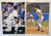 Bucky Dent & Roy White 5x7 Signed Photos Lot New York Yankees Authenticated Auto