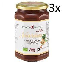 3x Rigoni di Asiago BIO Nuss Nougat Aufstrich schokolade 700g Brotaufstrich