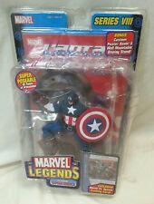 CAPTAIN AMERICA - New Marvel Legends Series VIII 8 Classic Captain America 2004