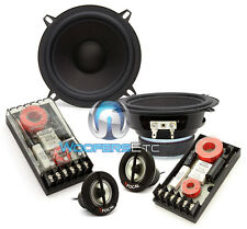 "3 pkg FOCAL HP5-M116 MIDS 5.25"" SPEAKERS + XO-13VR CROSSOVERS + TN-41 TWEETERS"