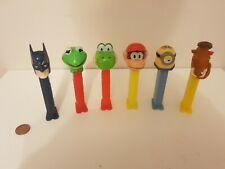 Pez Dispenser Toy Lot Bundle,Nintendo,Batman,Minions,Super Mario,Combine Post