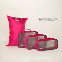 Australian design Travel luggage organiser set packing cube storage bags Laundry