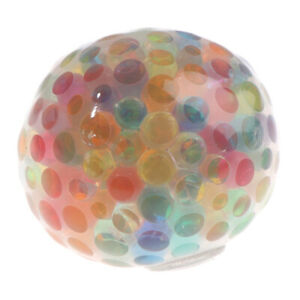 New Rainbow Ball Squeeze Antistress Funny Toy Stress Relief Squeeze Ball ToyBDA