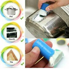 Magic Stainless Steel Pot Pan Cleaner Brush Rust Remover Metal Wash Polisher